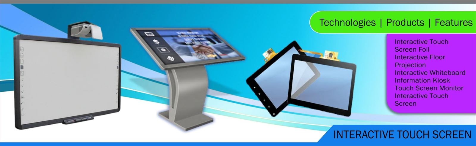 Elpro Technologies Interactive Touch Screen
